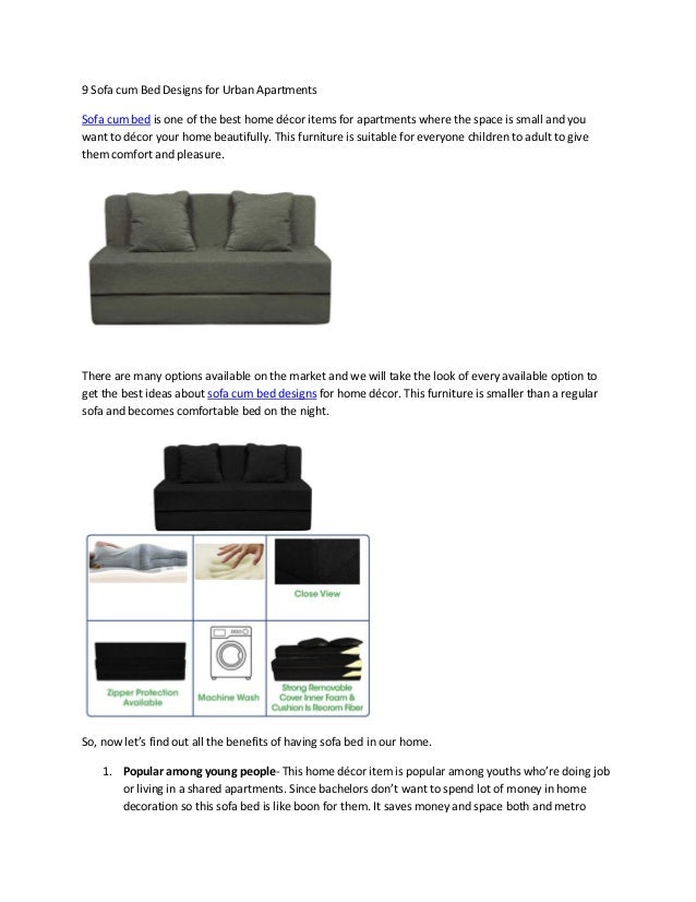 Amazing 9 Sofa Cum Bed Designs For Urban Apartments Cjindustries Chair Design For Home Cjindustriesco