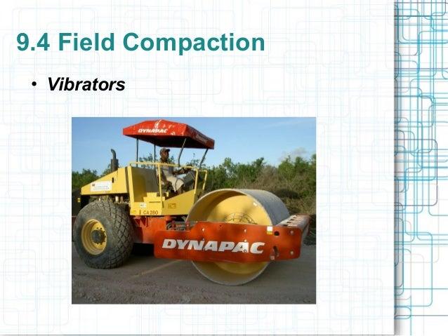 9 soil compaction for Soil 95 compaction