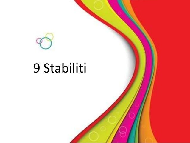9 Stabiliti