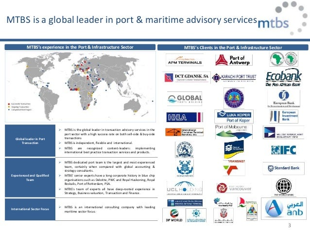 Investments in ports in financial turbulence times Slide 3