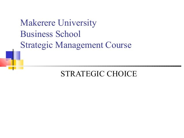 the strategic management course This module is also part of the following courses  select and use relevant  strategic management literature and frameworks critically analyse an  organization's.