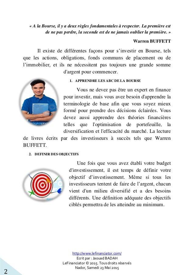 http://www.lefinanciator.com/ Ecrit par : Jaouad BADAH LeFinanciator © 2015. Tous droits réservés Nador, Samedi 23 Mai 201...