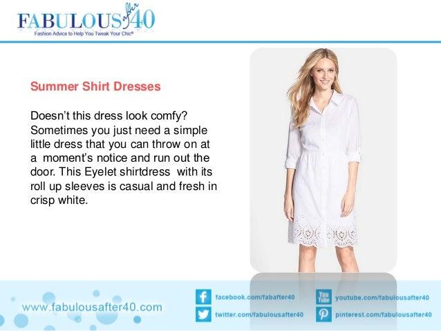 8455b061e216 ... make your figure look wow. 6. Summer Shirt Dresses ...