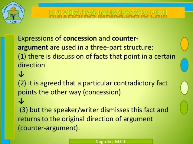 concession in an argumentative essay Argumentative essays can prove difficult for some students check out these tips and examples to help you write yours.