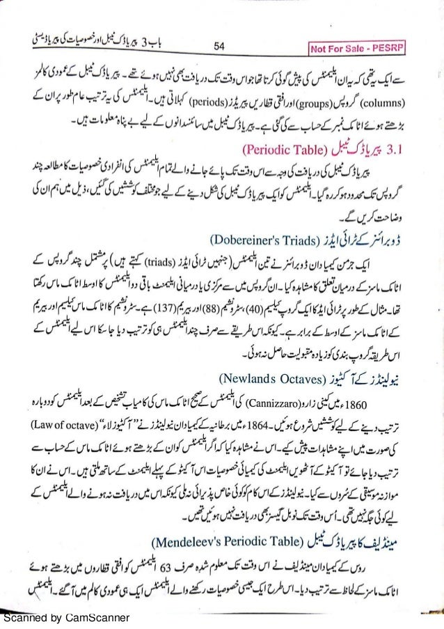 9th class chemistry book urdu 1 scanned by camscanner urtaz Image collections