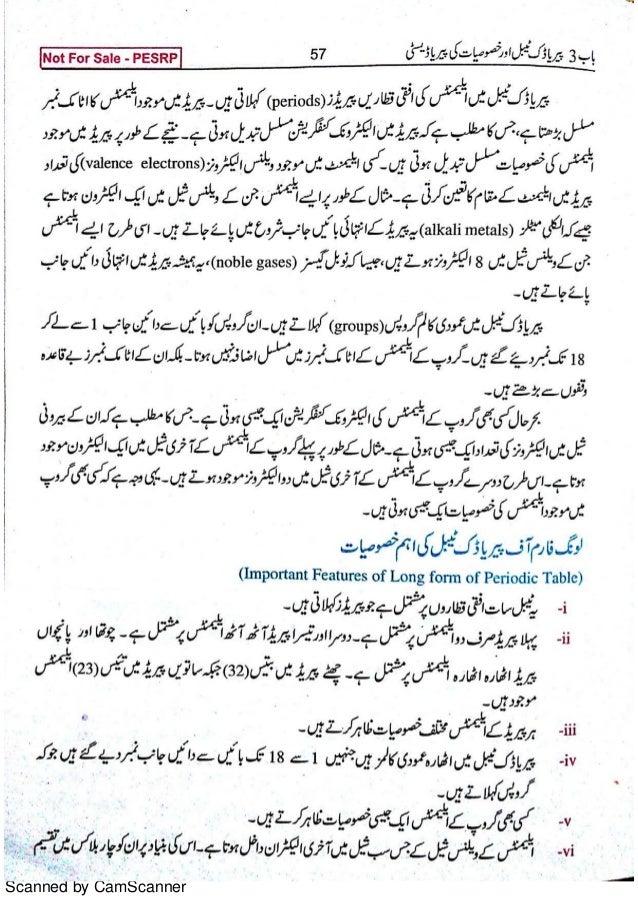 9th class chemistry book urdu 1
