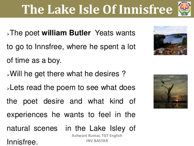 an overview of the work by william butler yeats an irish poet William butler yeats  in the poet and in his work nature grows  founding of the new irish republic – public activity for yeats was an appropriate.