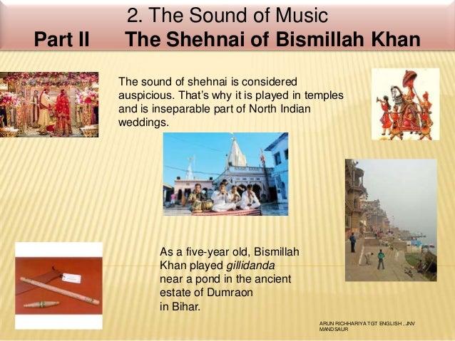 9 the sound of music part ii - the shehnai of bismillah khan