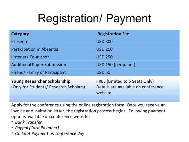 conference registration website