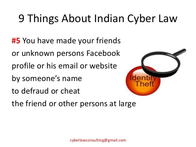 9 things about indian cyber law prashant mali