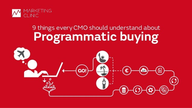 ©MarketingClinic 12/15/15 1 9 things every CMO should understand about Programmatic buying