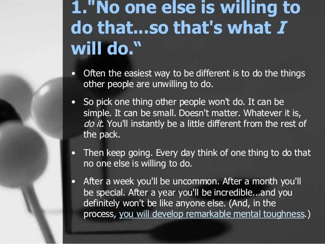 Every Day Do Something That Will Inch: 9 Things Highly Successful People Say Every Day