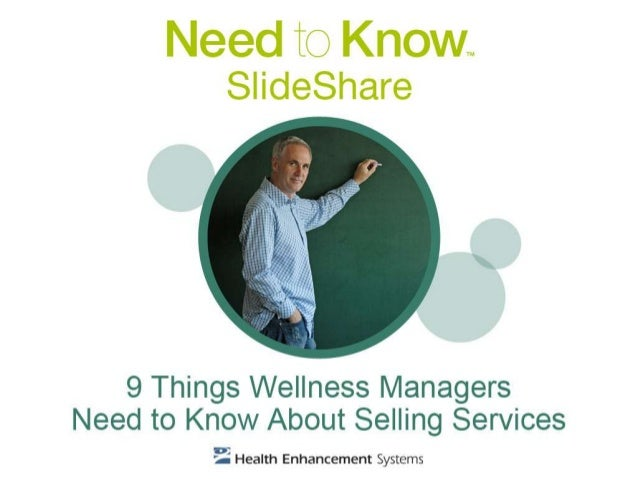 Being a wellness manager of a worksite wellness program is just like being in sales -- the better you become at promoting ...