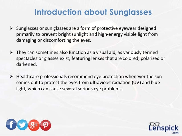 9 Things You Must Know Before Buying Sunglasses Online Slide 2