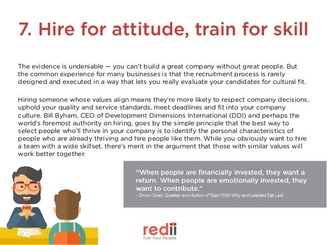 Do you assess cultural fit in the recruitment process? Ask candidates what type of culture they thrive in, or what values ...