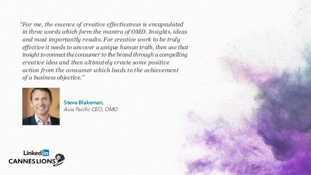 9 Thought Leaders Share Unique Perspectives on Creative Effectiveness Slide 3