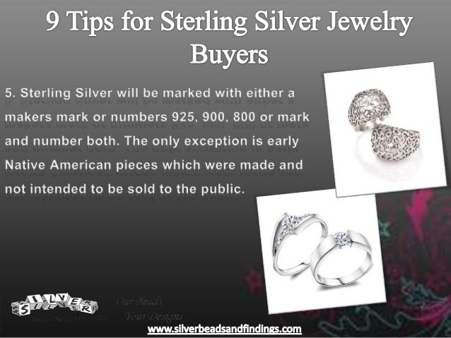 9 tips for sterling silver jewelry buyers