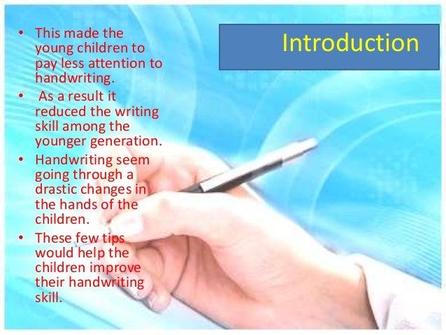 Best way to improve handwriting