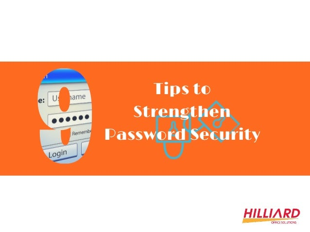Tips to Strengthen Password Security