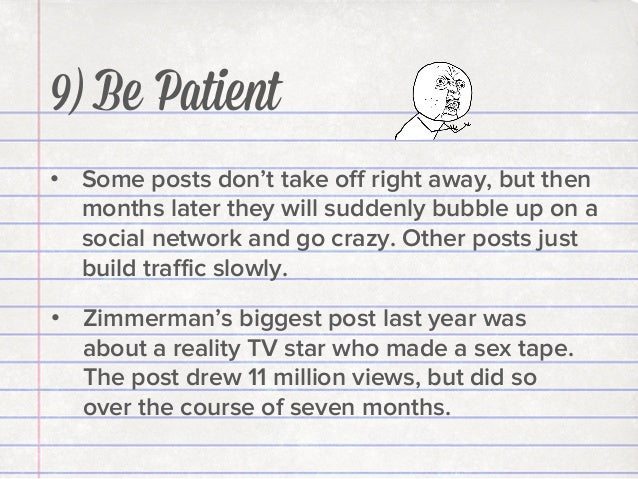"""""""At any given moment there were 200 people looking at that post. This went on for months. When I write a post I ask myself..."""