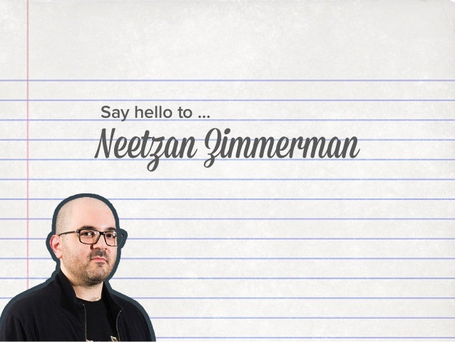 Say hello to …  Neetzan Zimmerman