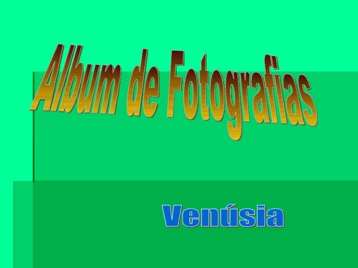 Album de Fotografias Venúsia