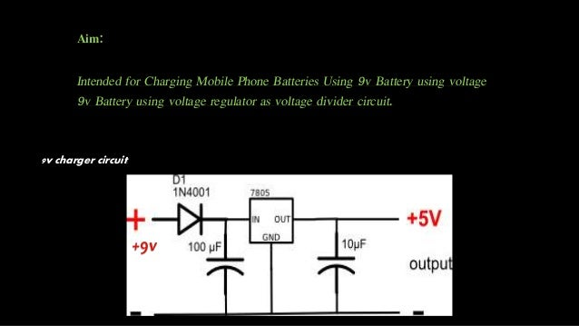 9v usb mobile charger mini project electron devices project 9v usb mobile charger guthvi raj 2 ccuart Gallery