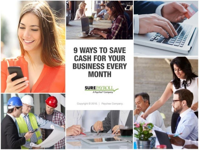 9 Ways to Save Cash for Your Small Business