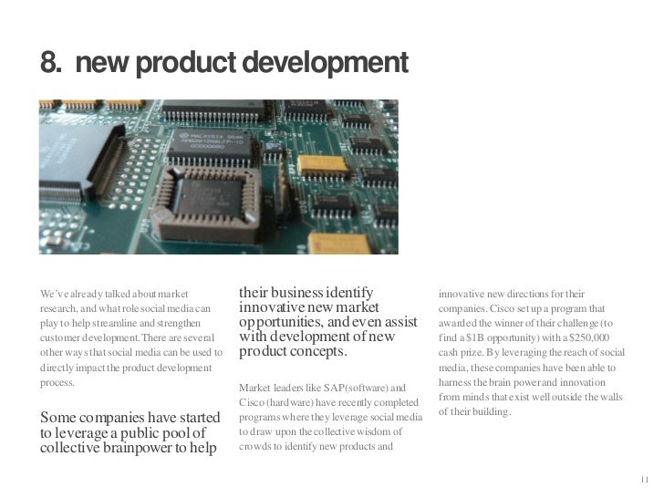 """8. new product development     We""""ve already talked about market             their business identify                     i..."""