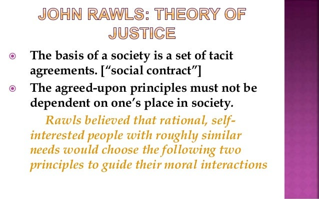 rawls view of ignorance Rawls' veil of ignorance versus mill's impartial spectator rawls' veil of ignorance idea claims that both rawls' main critic towards this view will be.