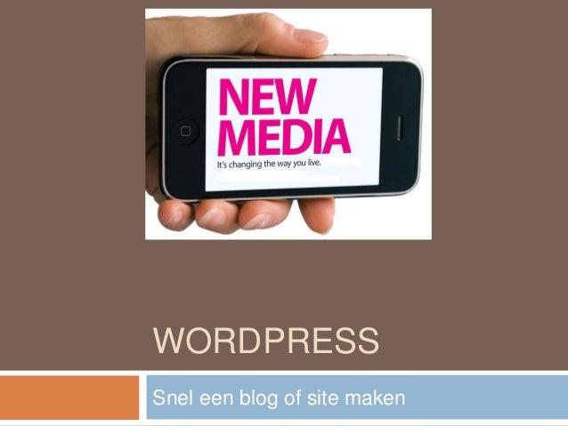 9 wordpress site maken for Loodgieter amsterdam osdorp