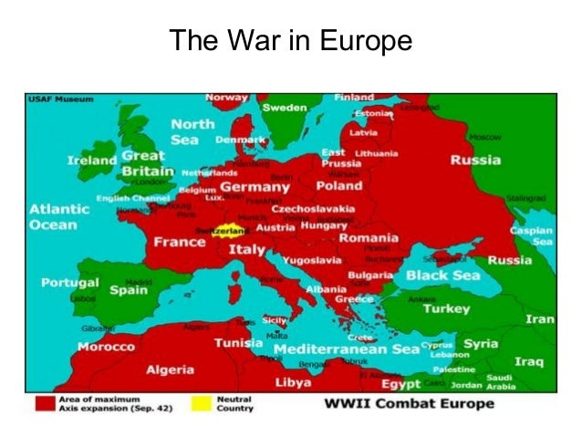 56 World War Ii Europe And North Africa Map | Biofocuscommunicatie