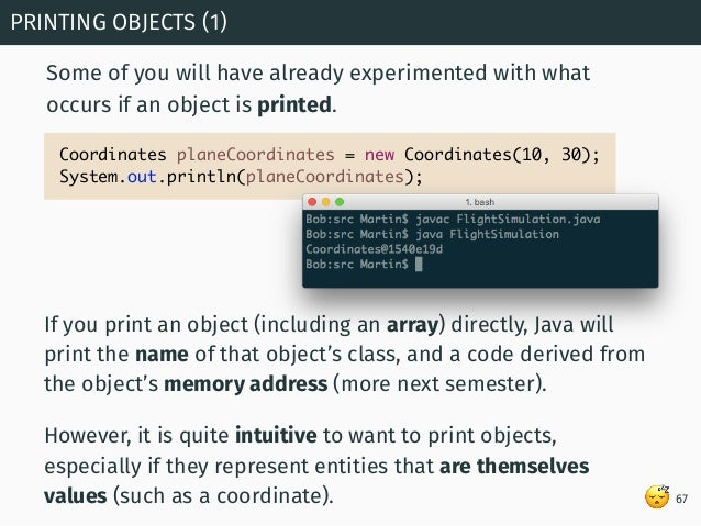 Programming in Java: Arrays