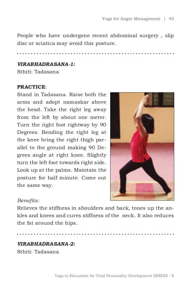 yoga for anger management pdf