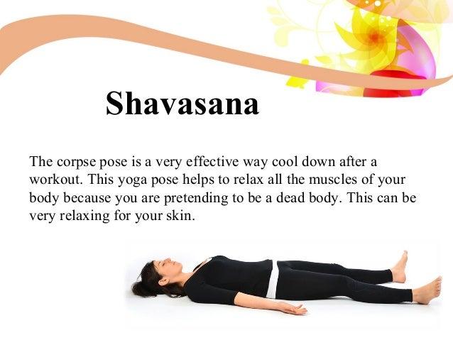 10 Shavasana The Corpse Pose