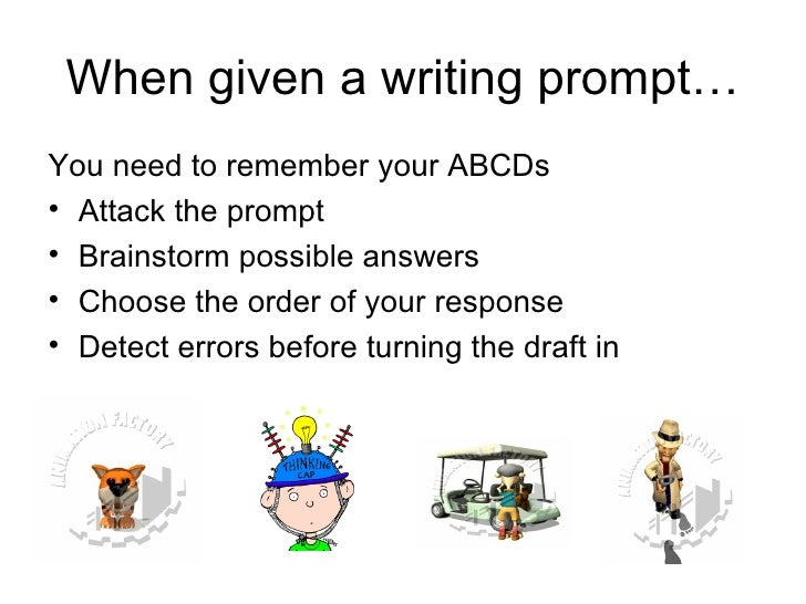 eap prompt essay Eap essay prompts eap essay prompts read the prompt below and answer the following questions in complete sentences: in a recent editorial essay, a working mother of.
