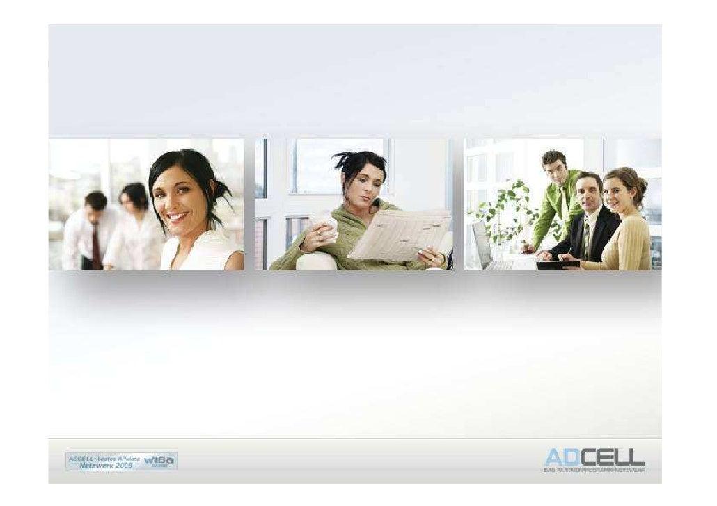 ADCELL stellt sich vor…   Die ADCELL GmbH wurde im Jahr 2003 von Oliver Seidel und Marcus Seidel als Partnerprogramm-Netzw...