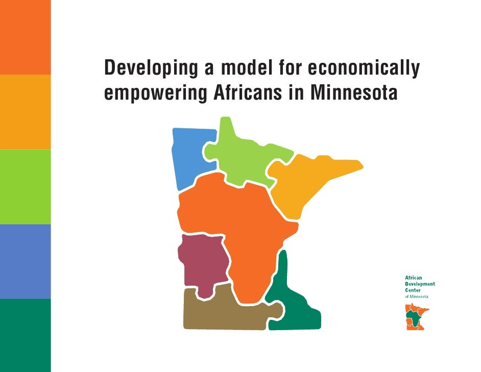 Developing a model for economically empowering Africans in Minnesota
