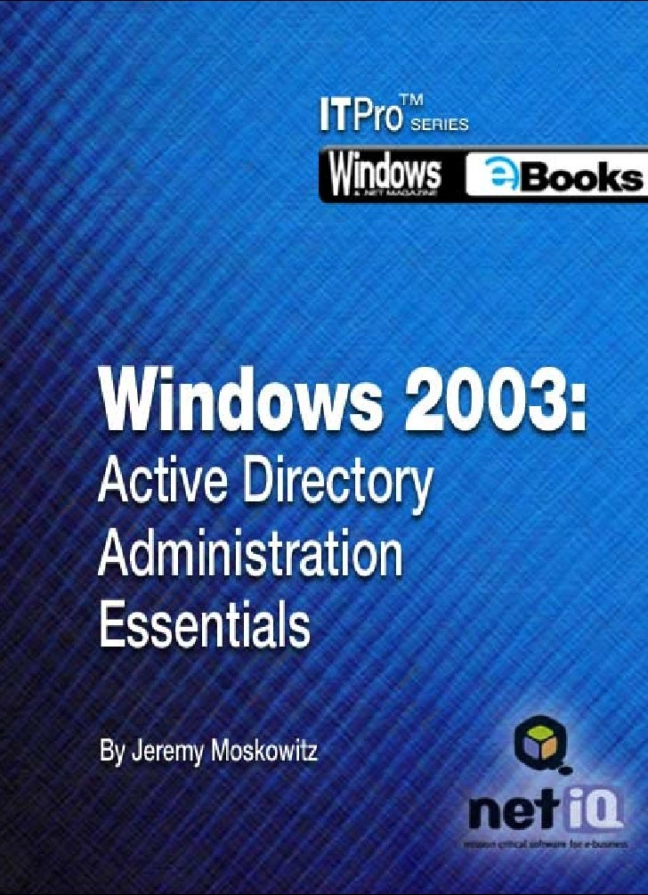 ii                                         Books  Contents Chapter 1 Windows Server 2003 — What's New . . . . . . . . . . ...