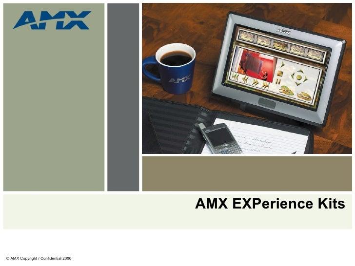 AMX EXPerience Kits