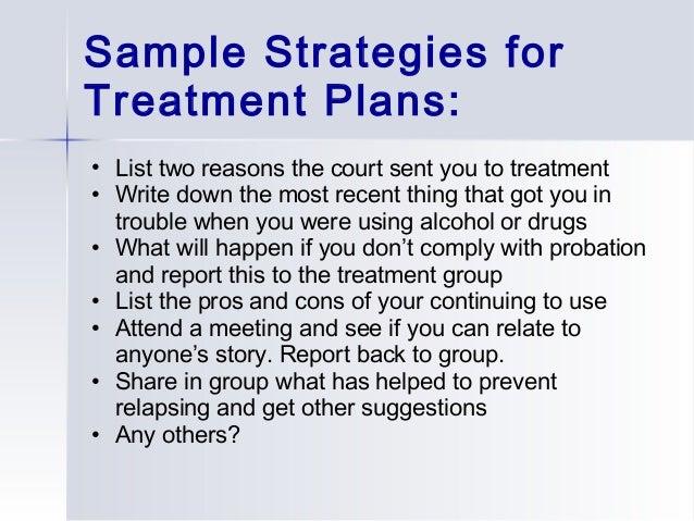 Addiction Treatment Plan Template. cognitive behavioral treatment ...