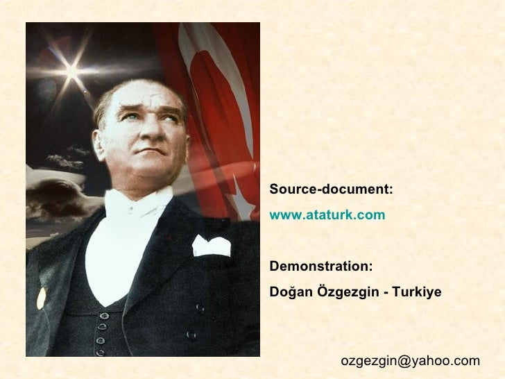 mustafa kemal ataturk essays Mustafa kemal ataturk reforms after the independence war of turkey as the president of the republic of turkey for 15 years, until his death in 1934.