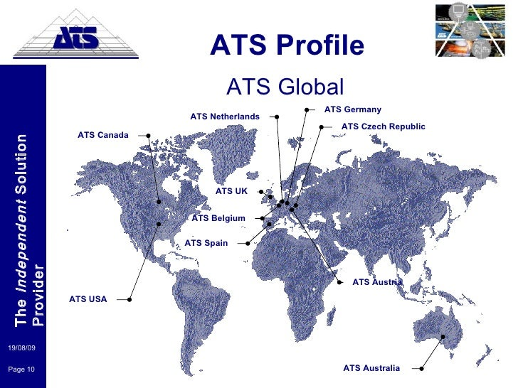 ATS Profile Presentation 2009 LinkedIn