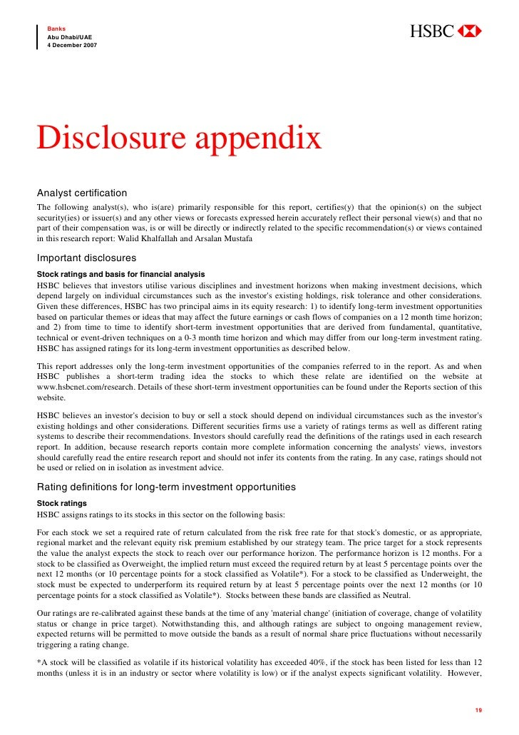 abc    Banks    Abu Dhabi/UAE    4 December 2007     Disclosure appendix Analyst certification The following analyst(s), w...