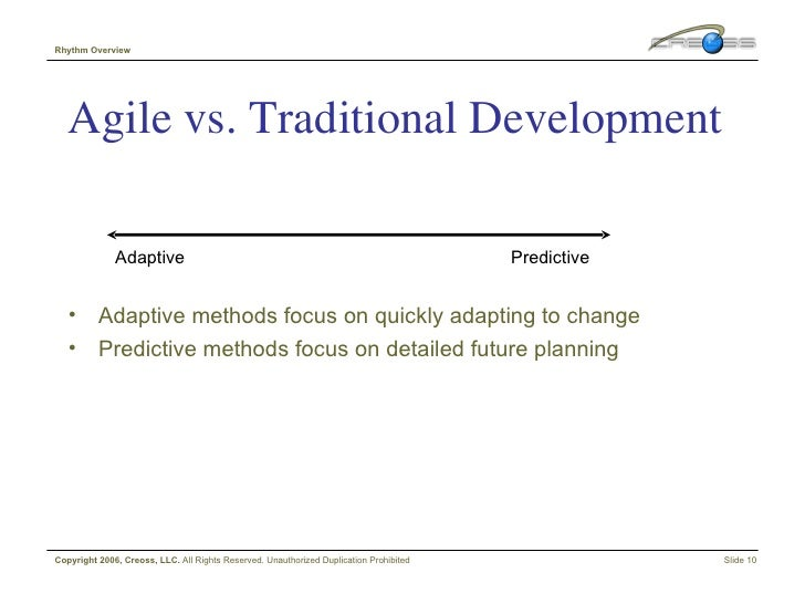 Agile in a box v0 2 for Agile vs traditional methodologies