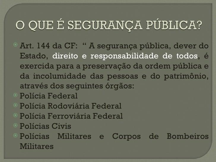 Incolumidade pública