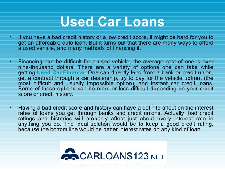 Car Loan Rate: Low Interest Rate Car Loans