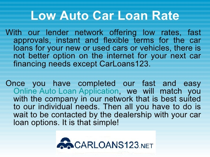 Current Auto Loan Interest Rates For Used Cars