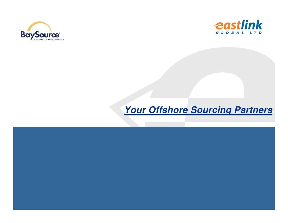 Your Offshore Sourcing Partners