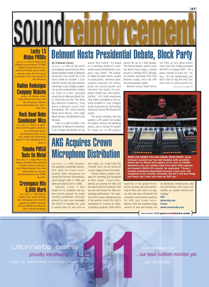 [47]                                        Belmont Hosts Presidential Debate, Block Party            Lucky 13         Mid...